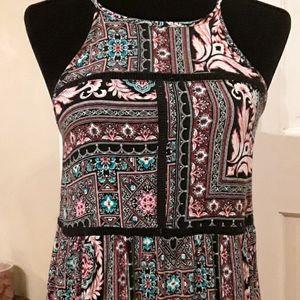 Xhilaration Boho Style Dress Size M